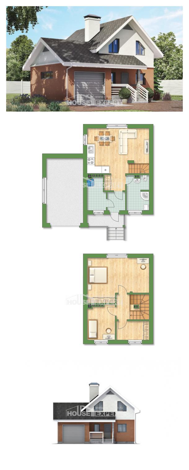 Проект дома 120-002-Л   House Expert