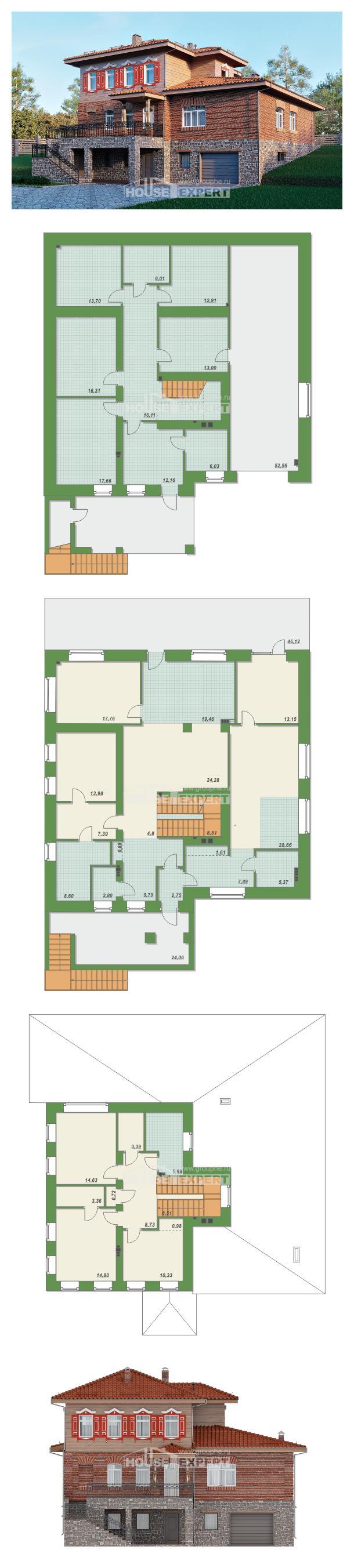 Проект дома 380-002-Л | House Expert